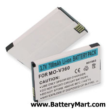 Motorola V190 Replacement Battery