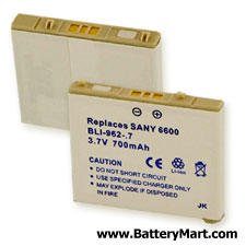 Sanyo SCP-6600 Replacement Battery