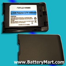 LG VX9400 Replacement Battery