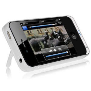 Apple Certified White Power Case for iPhone 4 and 4S