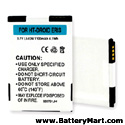 Replacement HTC Droid Eris Battery