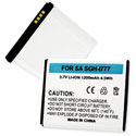 Replacement Samsung Galaxy S II, SGH-I777 Battery