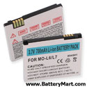 Motorola SLVR L7 Replacement Battery