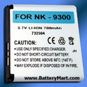 Nokia 9300 Replacement Battery
