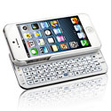 Naztech N5200 Sliding Keyboard for Apple iPhone 5 - White