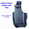 Samsung SGH-E330/E335 Plastic Holster with Swivel Belt Clip