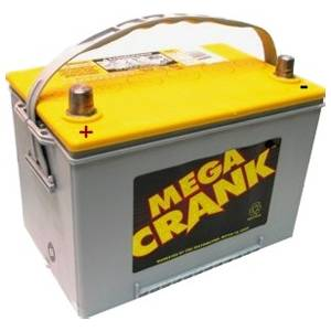 Mega Crank AGM Battery - 750 CCA