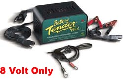 Battery Tender 8 Volt 1.25 Amp Battery Charger