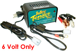 Battery Tender Plus 6 Volt 1.25 Amp Battery Charger