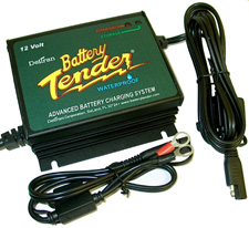 Power Tender Plus 12 Volt 5 Amp Water-Resistant Battery Charger