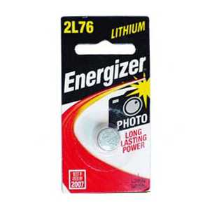 Energizer 2L76 3 Volt Lithium Photo Battery