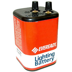 Eveready 510S 6V Industrial Lighting Battery