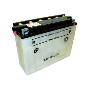 YB16AL-A2 Dry Charge Battery: Acid Required