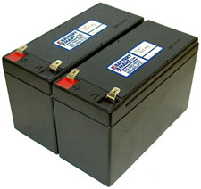 12 Volt 7 Ah Sealed Lead Acid Rechargeable Battery - 2 Pack