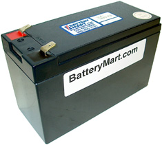 12 Volt 7 Ah Sealed Lead Acid Rechargeable Battery - F2 Terminal