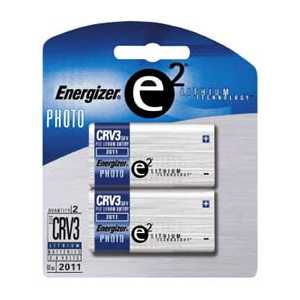 Energizer e2 CRV3 Lithium Photo Batteries - 2 Pack
