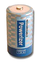 Powerizer D NiMH Rechargeable Battery