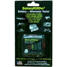 BatteryMINDer 12 Volt Battery Condition Indicator