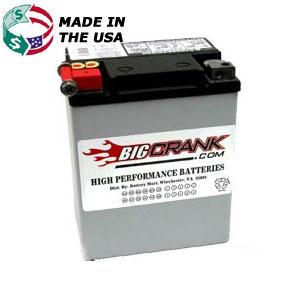 USA-Made Big Crank ETX15 Battery - Free Shipping