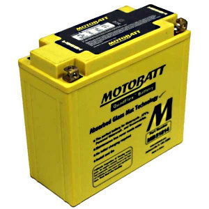 Motobatt MB51814 12V 22Ah AGM Battery