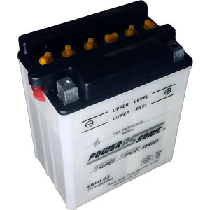 YB14L-A2 Dry Charge Battery with Acid