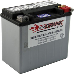 USA-Made Big Crank ETX16L Battery