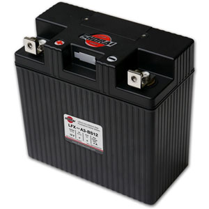 Shorai LFX27A3-BS12 Lithium-Iron Battery
