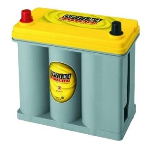 Optima DS46B24R Yellow Top Battery for Toyota Prius with SmartKey System