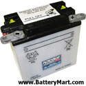 12N9-3A Dry Charge Battery: Acid Required