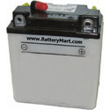6N6-3B Dry Charge Battery: Acid Required