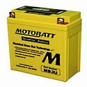 Motobatt MB3U 12V 3.8Ah AGM Battery
