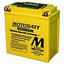 Motobatt MBTX16U 12V 19Ah AGM Battery