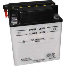 YB10A-A2 Dry Charge Battery: Acid Required