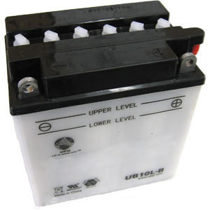 YB10L-B Dry Charge Battery: Acid Required