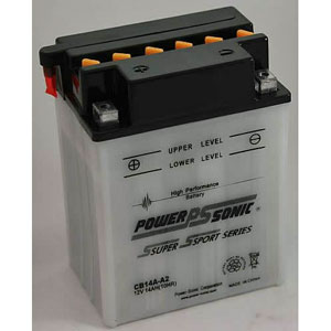 YB14A-A2 Dry Charge Battery: Acid Required