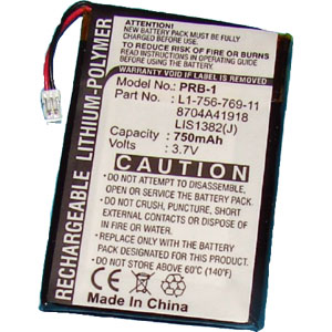 Replacement Sony PRS-500, PRS-505 Battery