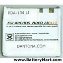 Replacement Archos AV400, PMA400 Series Battery