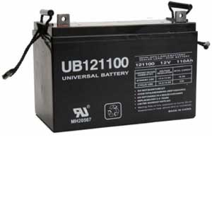 12 Volt, 110 Ah Sealed Lead Acid Rechargeable Battery
