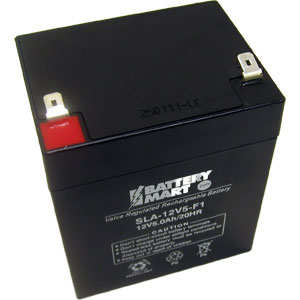 12 Volt 5 Ah Sealed Lead Acid Rechargeable Battery - F1 Terminal
