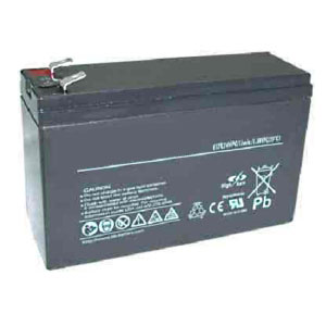 Replacement 12 Volt, 6 Ah RBC-114 Rechargeable Battery Pack