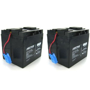 Replacement RBC-55 Rechargeable Battery Pack with SBS50 Plug