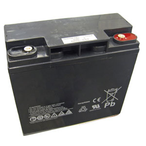 12 Volt 18 Ah Sealed Lead Acid Rechargeable Battery with Insert Terminal