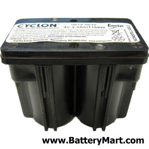 Hawker Cyclon Monobloc 4 Volt 2.5 Ah Sealed Lead Acid Battery