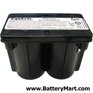 Hawker Cyclon Monobloc 4 Volt 5 Ah Sealed Lead Acid Battery