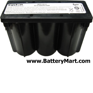 Hawker Cyclon Monobloc 6 Volt 8 Ah Sealed Lead Acid Battery