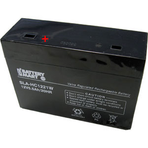 12 Volt 21 Watt Sealed Lead Acid Rechargeable Battery