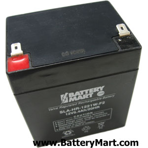 12 Volt 5 Ah F2 Terminal Sealed Lead Acid Rechargeable Battery