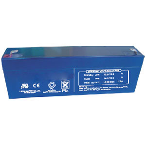 12 Volt 3.8 Ah Sealed Lead Acid Rechargeable Battery - F1 Terminal