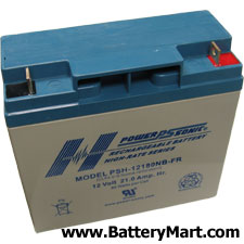 12 Volt 21 Ah Sealed Lead Acid Battery