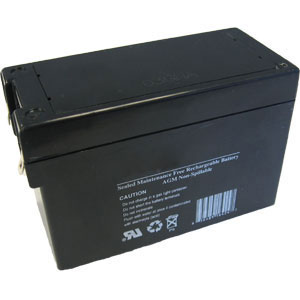 12 Volt, 2.5 Ah Sealed Lead Acid Rechargeable Battery